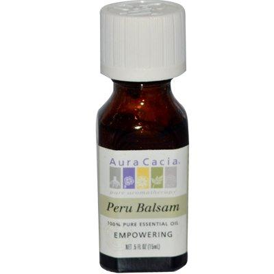 Aura Cacia Pure Essential Oil Peru Balsam - 0.5 fl oz