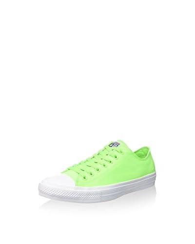 Converse Zapatillas Ct As Ii Ox Neon Poly Verde / Blanco