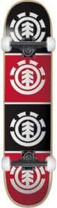 Element Quadrant Complete Skateboard - 8.0 Thriftwood w/Mini Logos