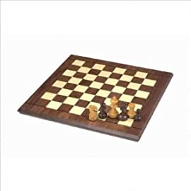 825.42 15-Inch Players Chess Set with 2 12-Inch Chessmen (Oversized)