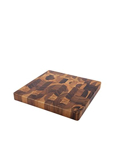 Core Acacia Large Square Checker Chop Block