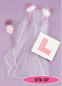 3 PIECE HEN NIGHT BRIDE TO BE PARTY SET
