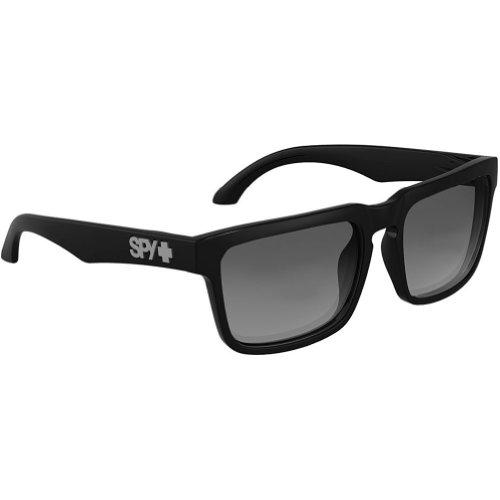 Spy Helm Sunglasses - Spy Optic Addict Series Polarized Lifestyle Eyewear - Black/Grey / One Size Fits All (Spy Electronics compare prices)
