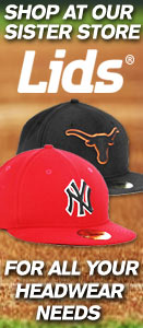 Shop at our sister store Lids for all your headwear needs.