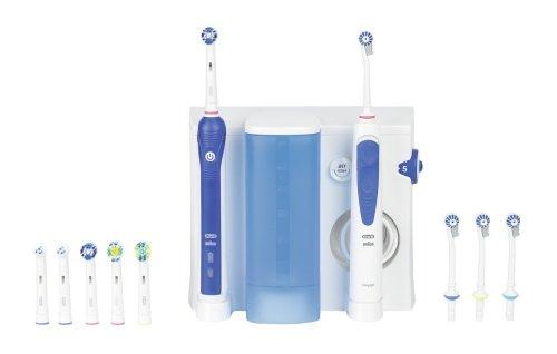 Oral-B Professional Care OxyJet +3000 – Pack dental: cepillo de dientes eléctrico recargable e irrigador bucal image