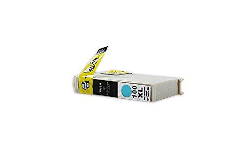 Kompatibel für Lexmark Pinnacle Pro 901 Tinte cyan - No.100 XL / 0014N1093E - Inhalt: 9,6 ml