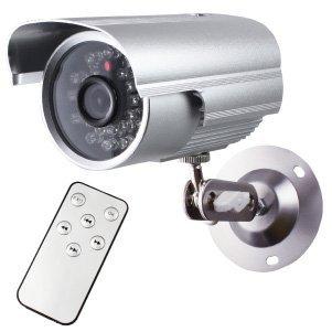 防犯カメラ 監視カメラ 屋外赤外線暗視カメラ 赤外線LEDライト オンロード(OL-017) 24時間常時録画 暗視撮影 動体検知 -
