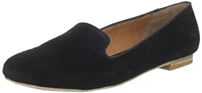 DV by Dolce Vita Women's Gilly Flat, Black Suede, 6 M US