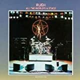RUSH ALL THE WORLD'S A STAGE VINYL DBLE LP 1976