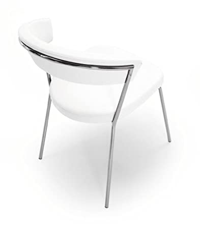 Calligaris Chair New York CS/1084 - LH in white