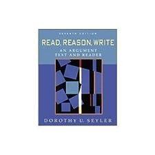 Read, Reason, Write - Book Alone