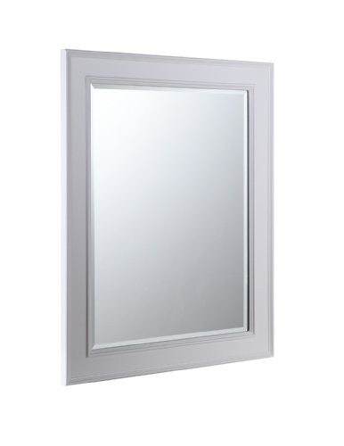 White Vanity With Mirror front-39849