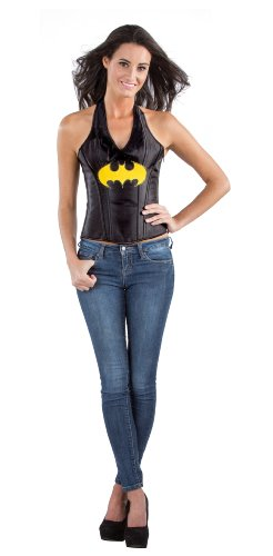 Rubie's Costume DC Comics Justice League Superhero Style Adult Corset Top