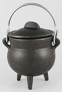 "Plain Cast Iron Cauldron 3"" *"