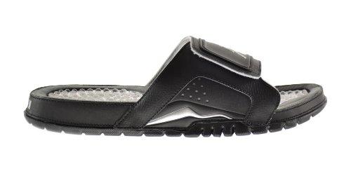0bff6a829865 Jordan Hydro VI 6 Retro Men s Slides Black Metallic Silver White 630752 001  10 D M