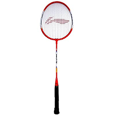 Li-Ning 809 XP Carbon Fiber Badminton Racquet, Size S2 (White/Red)