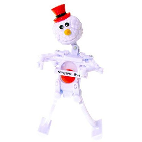 WIND-UP NOGGIN BOP SNOWY SNOWMAN - 1