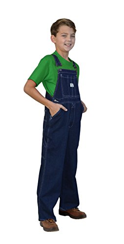 West End Blues Big Boys Soft Washed Denim Bib Overall Set overall yumi overall
