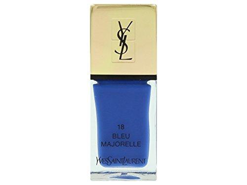 Yves Saint Laurent La Laque Couture, 18 Bleu Majorelle, Donna, 10 gr