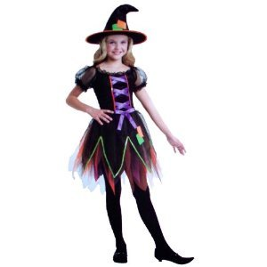 Twilight Witch Child Girls Dress Up Costume (Small) (Girls Twilight Witch Costume)