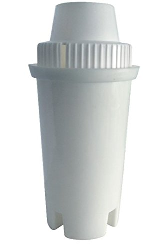 GoldTone Branded Water Filter Designed for Brita Water Pitchers, White