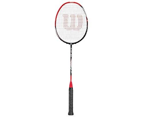 WILSON Blaze S1500 Bmtn Rkt 4 Badmintonschläger, Red/Black, 4