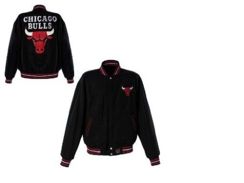 Jh Design Chicago Bulls Reversible Wool Jacket 3Xl at Amazon.com