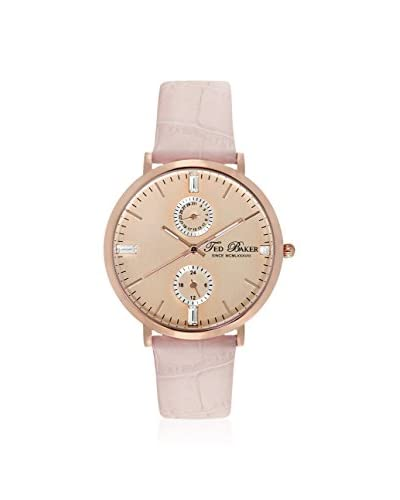 Ted Baker Women's TE2104 Smart Rose/Pink Leather Watch