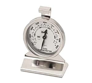 Browne Foodservice OT84010 150-550 Degree Hanging Oven Thermometer, 2-3 8-Inch by Browne Foodservice