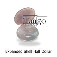 Expanded Shell Half Dollar by Tango - two sided