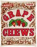 Albert\'s Fruit Chews - Grape Flavor (240 Candies)