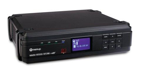 Memup Disque Dur Multimedia 3.5 1500 Go HD TV 1080p/sigma design/ethernet Mediadisk MX HD MEMUP MEDIADISKMXHD 1500