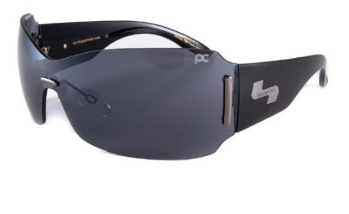 Sundog Sunglass Paula Creamer 47002 Mysterious Shiny Black / Smoke Flash