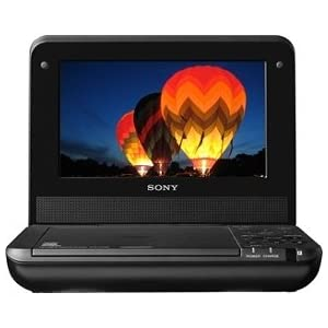31b7U73brdL. SL500 AA300  Sony DVPFX750 7 Inch Portable DVD Player (Black)   $78 + Shipping