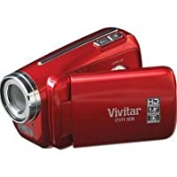 "Vivitar DVR508 High Definition Digital Video Camcorder with 1.8"" LCD Screen with 4x Digital Zoom (Red) from Vivitar_"