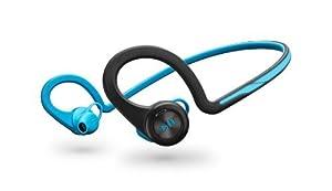 Plantronics BackBeat Fit Bluetooth Headphones - Blue - Frustration Free Packaging