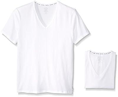 Calvin Klein Men's 2-Pack Modern Cotton Stretch V-Neck T-Shirt