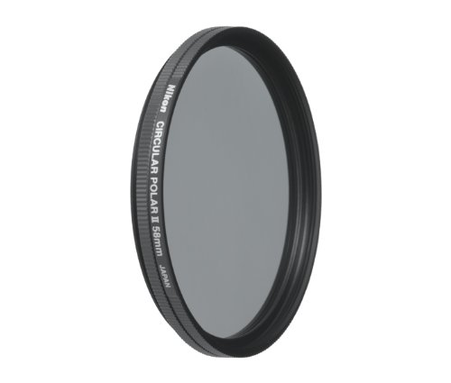 Nikon 2236 58mm Circular Polarizer II Filter Attaches to HN-CP17 lens hoodInterchangeable Lens