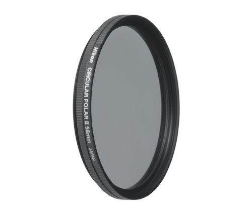 Nikon C-PL-II Filtre Polarisant circulaire 58 mm
