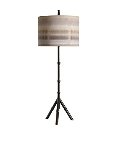 StyleCraft Bamboo 1-Light Table Lamp, Multi