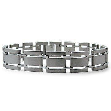 Titanium Mens Jewelry Chain Link Bracelet