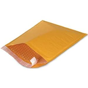 50 Pc Kraft Bubble Mailers Padded Envelopes 4 X 7