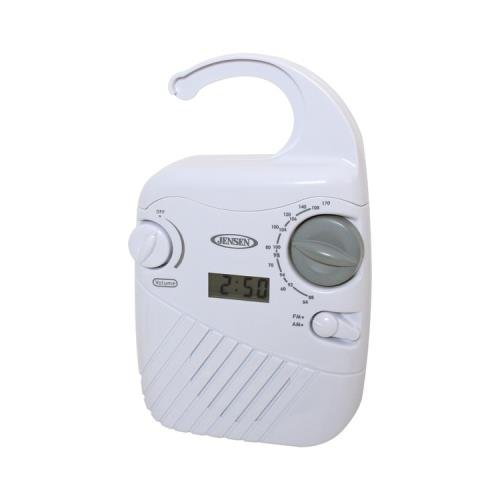 Jensen Jwm-130 Am/Fm Shower Radio Wht