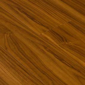 Goodwood Wood Flooring Distressed Red Wood Laminate Flooring Tile with thickness: 12mm, width: 6 In., length: 4'