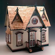 Greenleaf Dollhouse Kit-Orchid