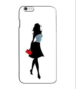 Crazymonk Premium Digital Printed 3D Back Cover For Apple I Phone 6S