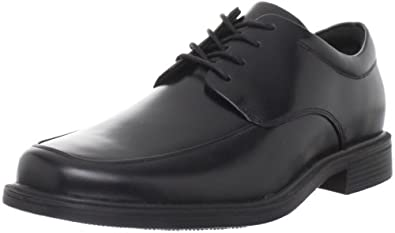Rockport Men's Evander Moc Toe Oxford,Black,6.5 W US