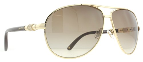 Jimmy Choo Jimmy Choo Walde Sunglasses Rose Gold / Brown Gradient