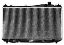 TYC 2354 Honda Civic 1-Row Plastic Aluminum Replacement Radiator (2002 Honda Civic Radiator compare prices)