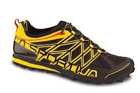 Womens Anakonda Trail Running Shoes - 44 - BLACK / YELLOW